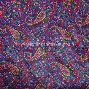 PUL fabric Wine Paisleys