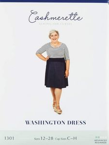 Cashmerette kaava 1301 Washington Dress