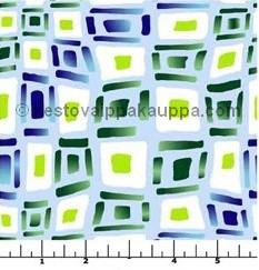 Waterproof fabric, squares