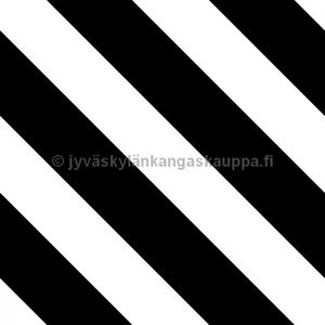 Digital jersey Diagonal Stripes BLACK