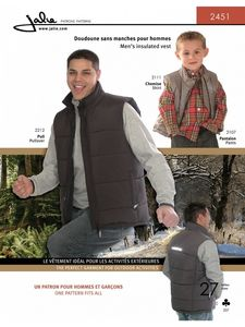 Jalie 2451 Insulated vest