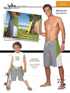 Jalie 2678 Board shorts