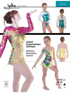 Jalie 3026 Rhythmic gymnastics leotard