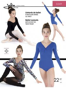 Jalie kaava 3349 Ballet Leotards