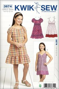 Kwik SEW K3674 Dress (VARASTO)