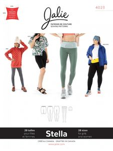 Jalie kaava 4023 Stella Leggings, Running Belt and Beanie