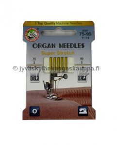 ORGAN super stretch needles 75/11 and 90/14