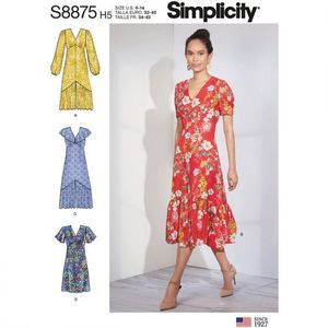 Simplicity Pattern S8875 Dresses