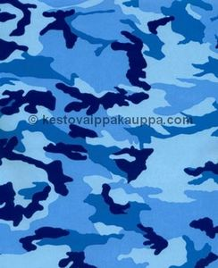 One nappy piece fabric camo BLUE