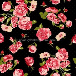 Digital jersey Fifties Rose