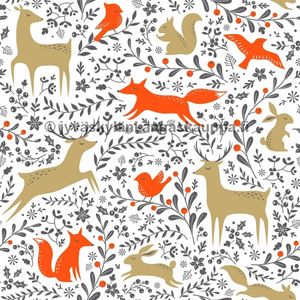 PUL fabric Deer