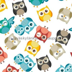 One nappy fabric piece Hoot Hoot