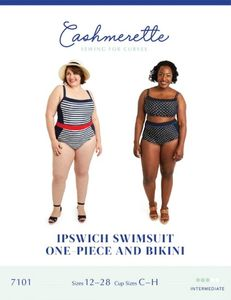 Cashmerette 7101 Ipswich Swimsuit and Bikini