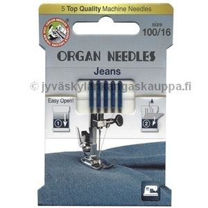 ORGAN jeans needles 100/16