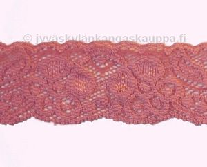 Stretch lace rose 3.8cm