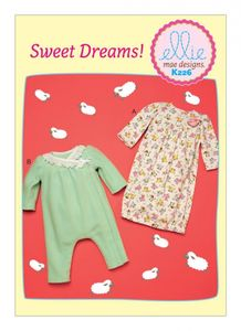 Kwik SEW Ellie mae Design K0226 Infant gown and jumpsuit