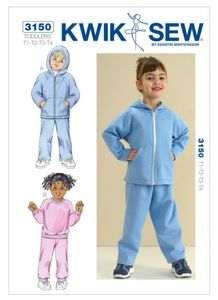 Kwik SEW K3150 Toddlers' shirts and pants