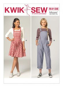 Kwik SEW K4138 Overall jumper and jumpsuit