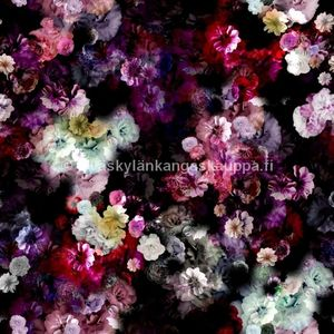 PUL fabric kukat (flowers)