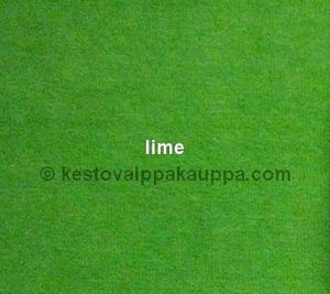 One nappy fabric piece nicky velour lime