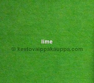 PUL LAMINATED VELOUR lime