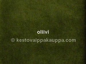 One nappy fabric piece nicky velour olive