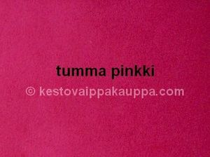 PUL LAMINATED VELOUR dark pink (1m cut)