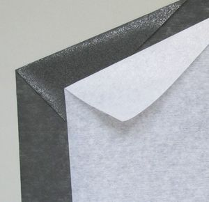 Thin fusible interfacing fabric