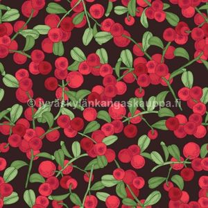 Digital jersey Lingonberry