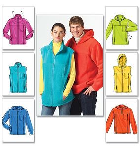 McCall's M5252 Hooded vest and jackets