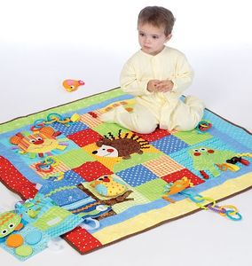 McCall's M7104 Play quilt and mats