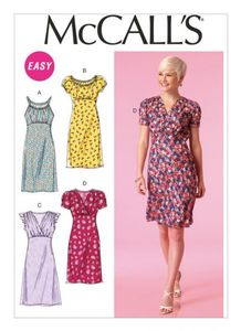 McCall's M7116 Empire-waist dresses