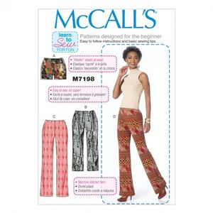 McCall's M7198 Shorts, capris and pants