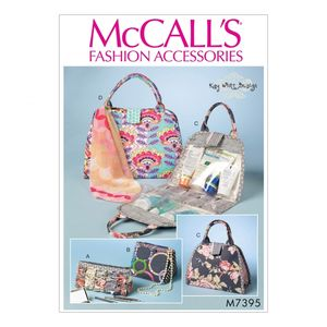 McCall's M7395 Cosmetic bags
