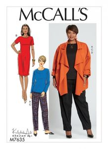 McCall's M7635 Misses'/Women's Top, Dress, Pants, and Jacket
