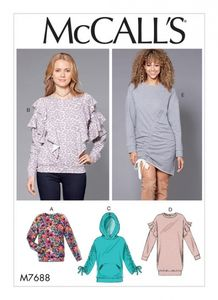 McCall's M7688 Knit Tops and Dresses