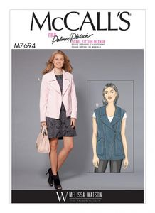 McCall's M7694 Moto-Style Jacket and Vest