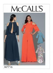 McCall's M7716 Dresses and Jumpsuit