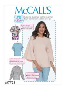 McCall's M7721 Tops