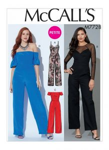 McCall's pattern M7728 Jumpsuits