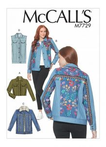 McCall's M7729 Jackets and Vest