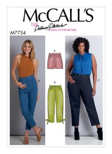 McCall's M7754 Misses'/Women's Shorts and Pants