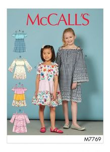 McCall's M7769 Children's/Girls' Dresses