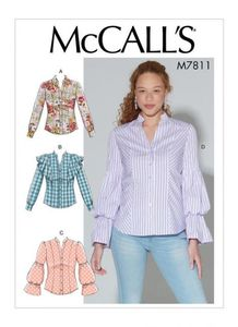 McCall's pattern M7811 Tops
