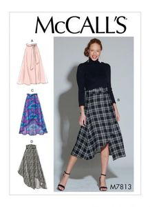 McCall's pattern M7813 Skirts and Belt