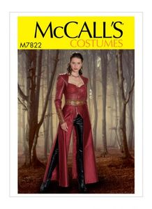 McCall's pattern M7822 Misses' Costume