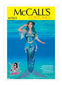 McCall's pattern M7825 Misses' Costume