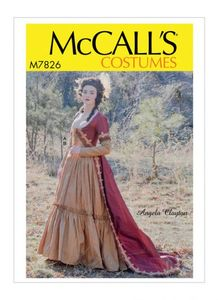 McCall's pattern M7826 Misses' Costume
