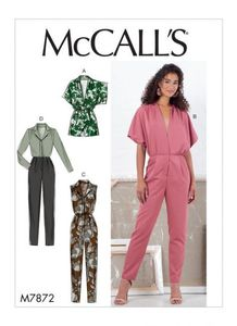 McCall's pattern M7872 Romper and Jumpsuit