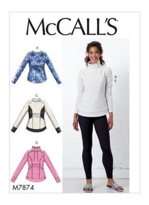 McCall's pattern M7874 Tops and Leggings
